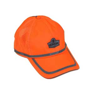 GloWear® 8930 Hi-Vis Baseball Cap, Orange