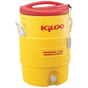 Igloo® IGL451 5-Gallon Water Cooler with Pressure-Fit Lid and SpigotIgloo® IGL451 5-Gallon Water Cooler with Pressure-Fit Lid
