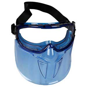Jackson Safety® V90 Anti-Fog Goggles Detachable Face Shield