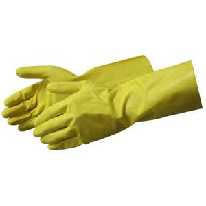 Liberty Glove, 2980yc, SM, Yellow Nitrile Glove 11mil