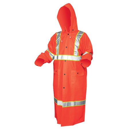 Luminator™ .35mm PVC/Polyester 49 in Coat, ANSI Class