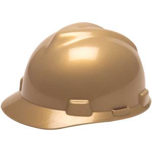 MSA V-Gard® Front Brim Hard Hat with 4-Point Ratchet