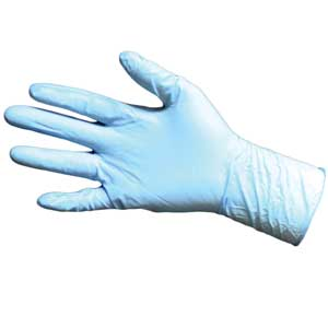 8 Mil Nitrile Gloves Disposable Blue Powder Free