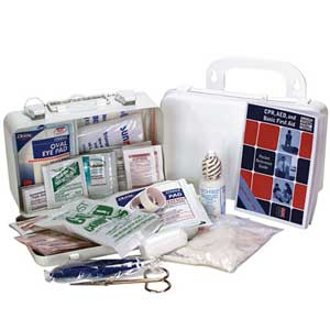 Medique® 733P10P 10 Person Compact First-Aid Kit