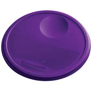 Rubbermaid Color Coded Food Storage System Round Lid. View Larger  sc 1 st  Hantover & Rubbermaid Color Coded Food Storage System Round Lid Purple