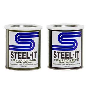 STEEL-IT® 4907Q Epoxy Finish 2 Quart Kit, 3 Kits/Case