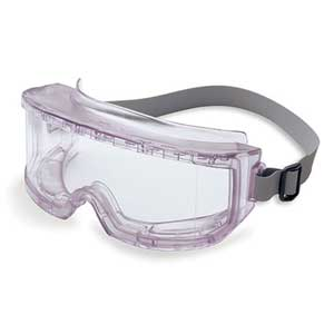Uvex S345C Futura Safety Goggles, Clear, Uvextreme Anti-Fog