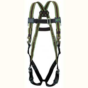 Miller DuraFlex®, Full Body Harness, Construction, Polyester, Stretch