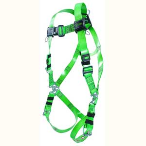 Miller Revolution™ Full Body Harness RPC-TB/UGN Vinyl Coated