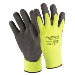 Wells Lamont FlexTech™ Y9239T Hi-Vis Thermal Latex Palm