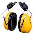 3M™ Peltor™ H9P3E Earmuff, Yellow, Helmet Attached, Noise Blocking, 23 dB