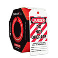 OSHA Danger Safety Tag: Tags By-The-Roll- Do No