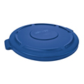 BRUTE®, Container Lid 32 Gallon, Blue