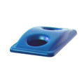 Slim Jim®, Recycle Container Top, Blue