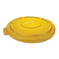 BRUTE®, Container Lid 32 Gallon, Yellow