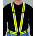 Infinity 3M™ Scotchlite™ 2960R Reflective Harness With Belt, Elastic, Fluorescent Lime-Yellow