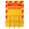 SDS Right-To-Know Compliance Center Rack Without Binder