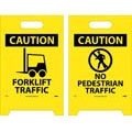 Floor Sign, Floor Mount, 20 in, Black on