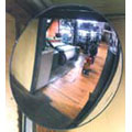 Convex Mirror, Acrylic, Round, 26 in, Wall / Ceiling, Outdoor