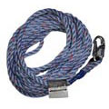 Miller Lifeline Rope Grab Blue 100' Snap Hook & Loop 300L