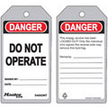 Guardian Extreme™, Lockout Tag, Danger, DO NOT OPERATE,