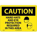 Caution Hard Hates and Eye Protection Required In