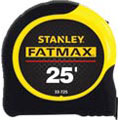 FATMAX®, Tape Rule, Imperial, 25 ft, 1-1/4 in, 1/16 in, ABS