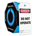 Accuform TAR110 Tags By-The-Roll: Danger Do Not Operate,