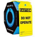 Accuform TAR130 Tags By-The-Roll: Caution Do Not Operate,
