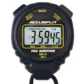Accusplit® A601XBK-XBX100 Black Pro Survivor Stopwatch