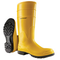 "Dunlop® 88722 Electrical Hazard Steel Toe Boot,16"", Yellow"