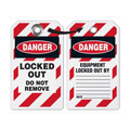 Emedco DT792 Danger Locked Out Do Not Remove