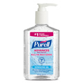 GOJO® Purell® 9652-12 Advanced Hand Sanitizer Gel, 8-Ounce