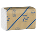 Kimberly-Clark 01510 Scott® C-Fold White Paper Towels