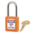 Master Lock® Zenex® 410ORG Orange Thermoplastic Safety Padlock