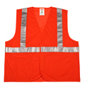 Tingley V70629 Hi-Viz Mesh Safety Vest, Orange