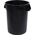 Bronco™ 34103203 Black Round 32 Gallon Round Container