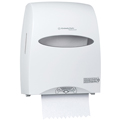 Sanitouch Paper Towel Dispenser, White