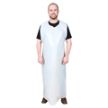M8 White Poly Disposable Apron, 65