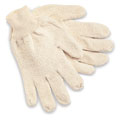 MCR 9400KM String Knit Gloves, Cotton, Knit Wrist, White