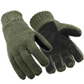 RefrigiWear 0521 Insulated Wool, Leather Palm, Green