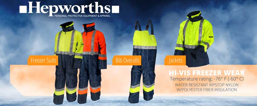 Hi Vis Freezer Clothing